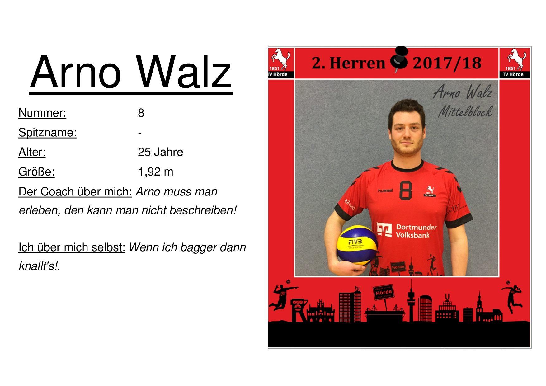 Arno Walz