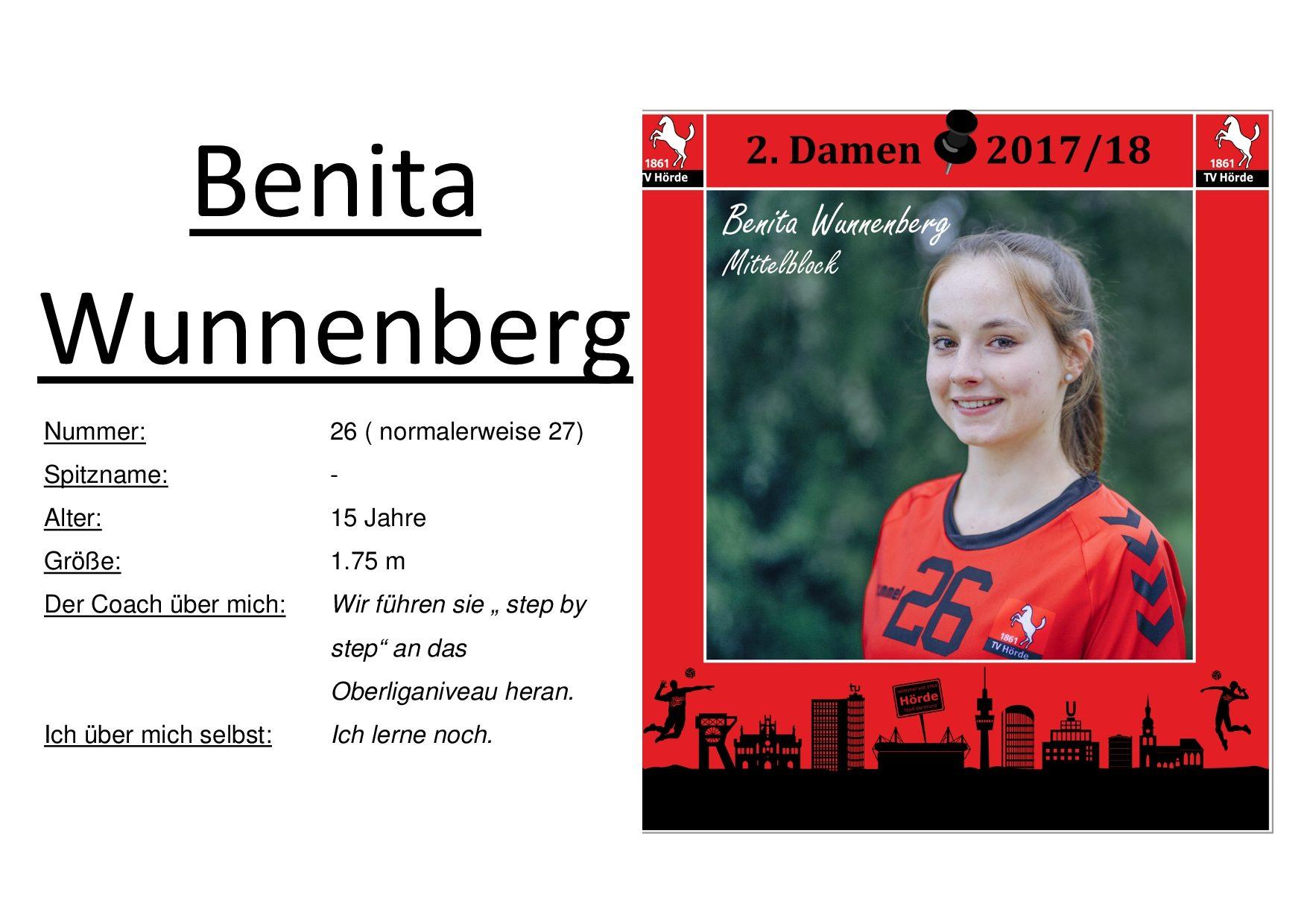 Benita Wunnenberg