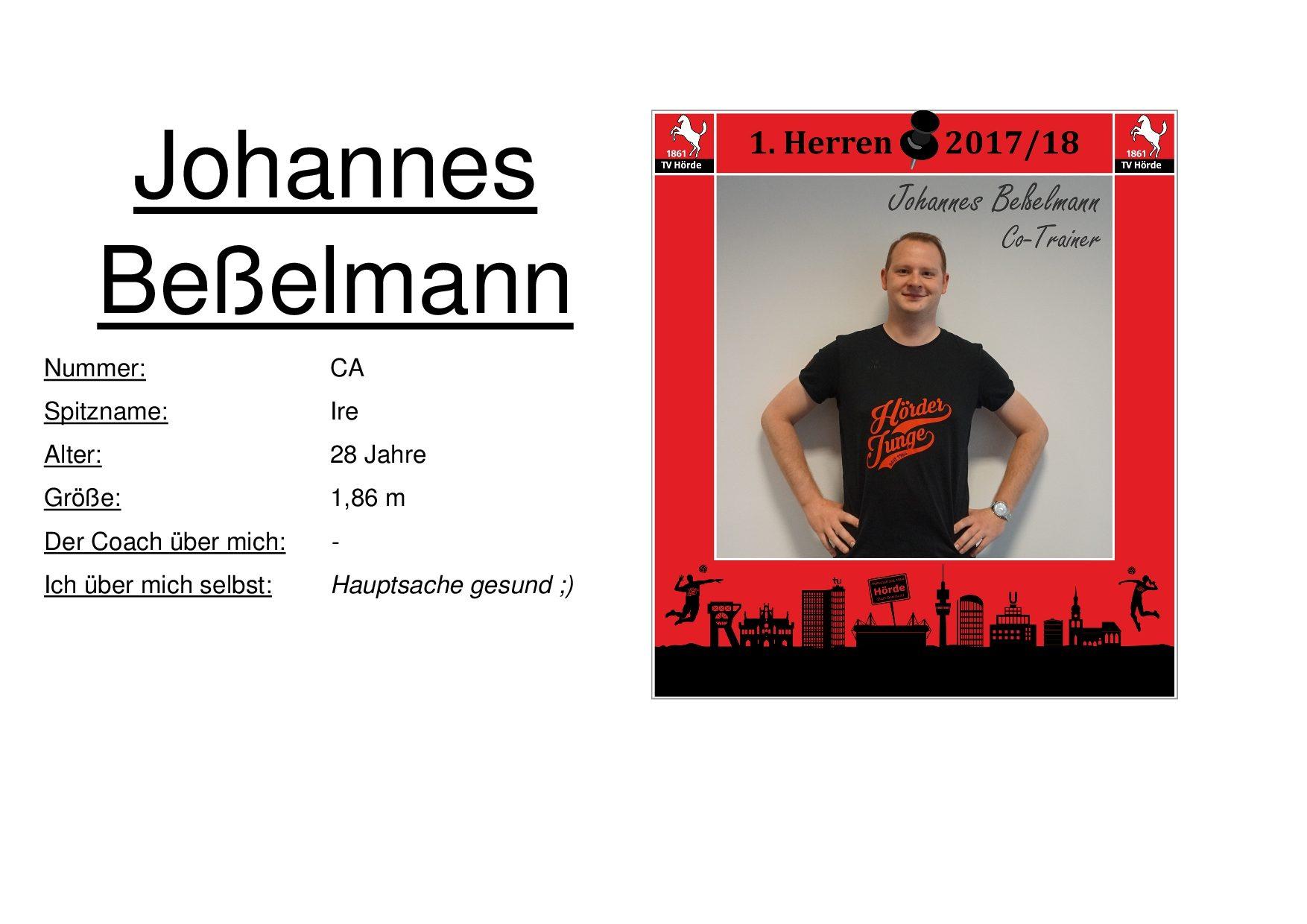 Johannes Beßelmann