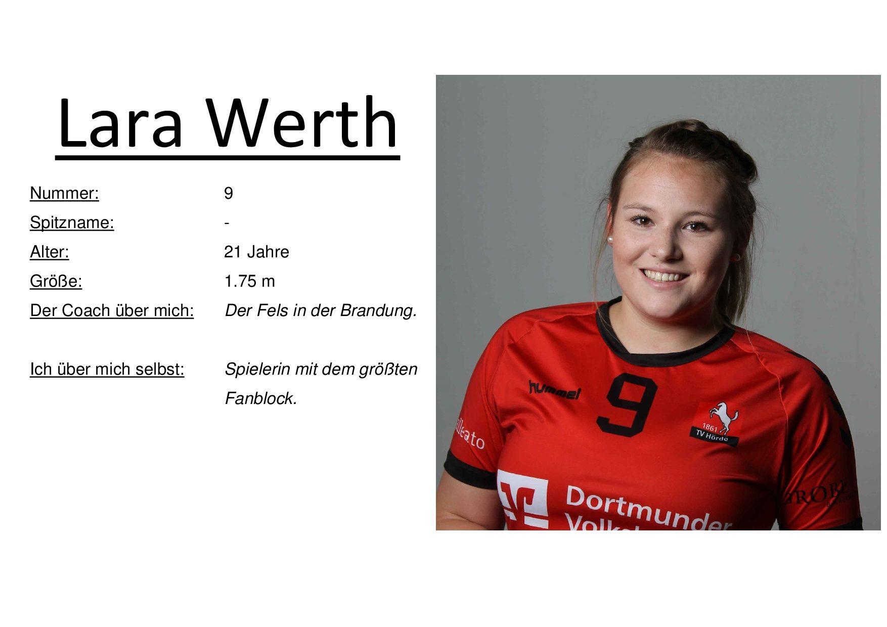 Lara Werth