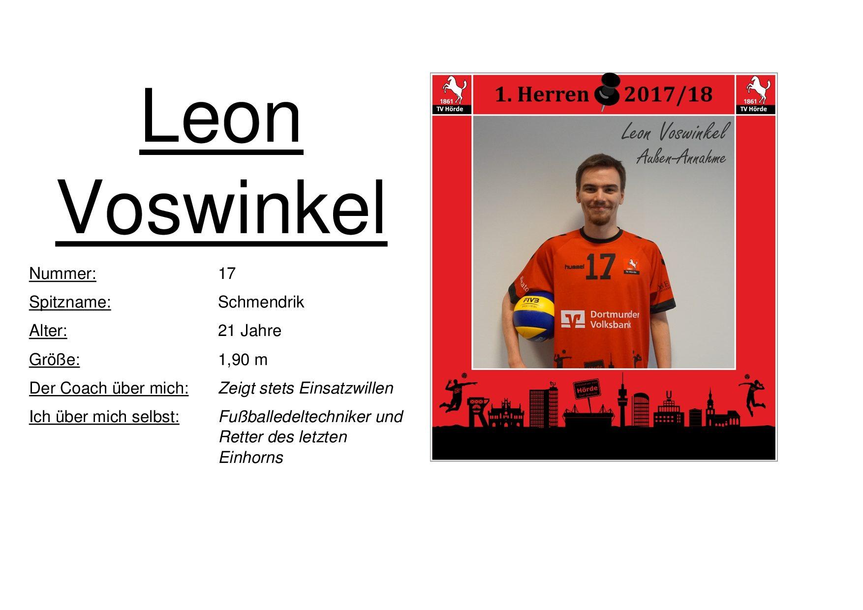 Leon Voswinkel