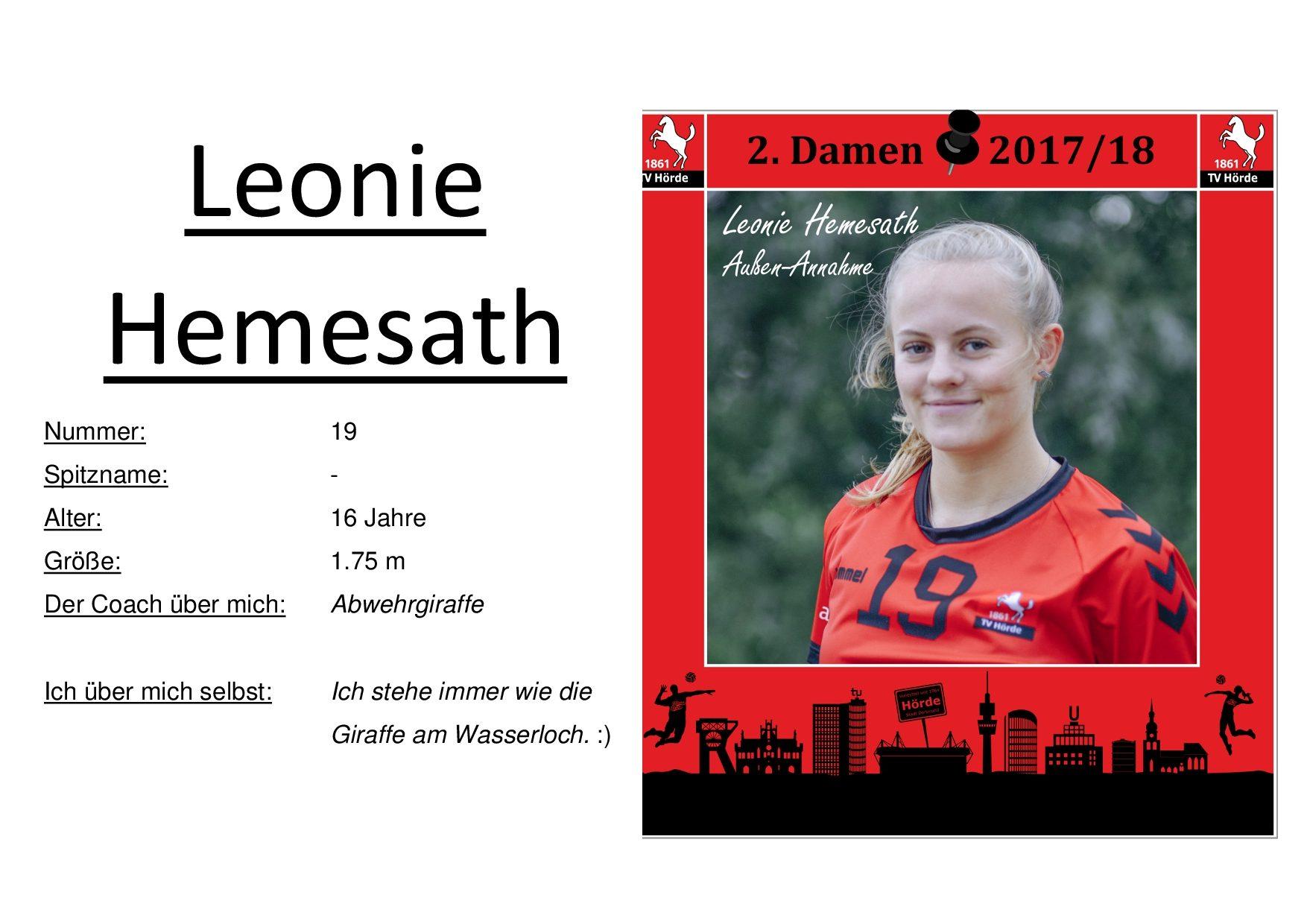 Leonie Hemesath