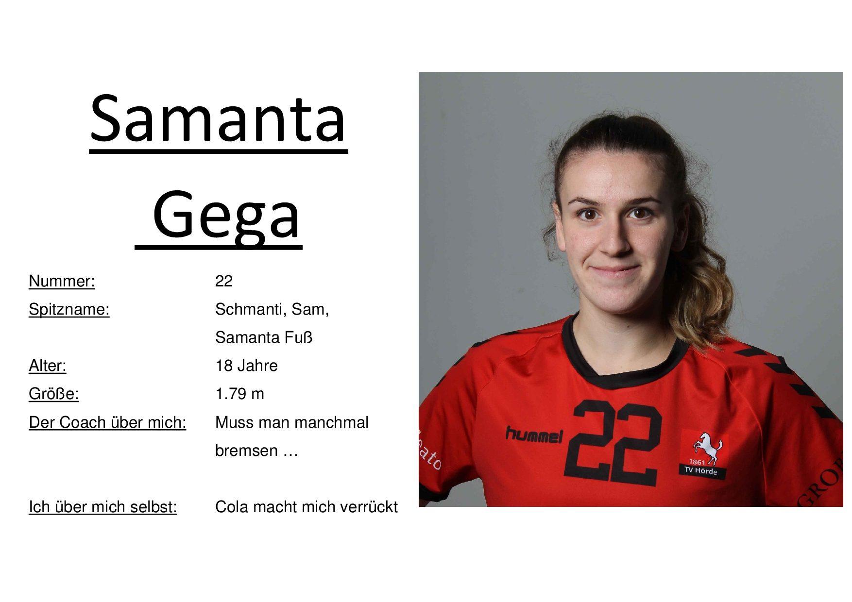 Samanta Gega