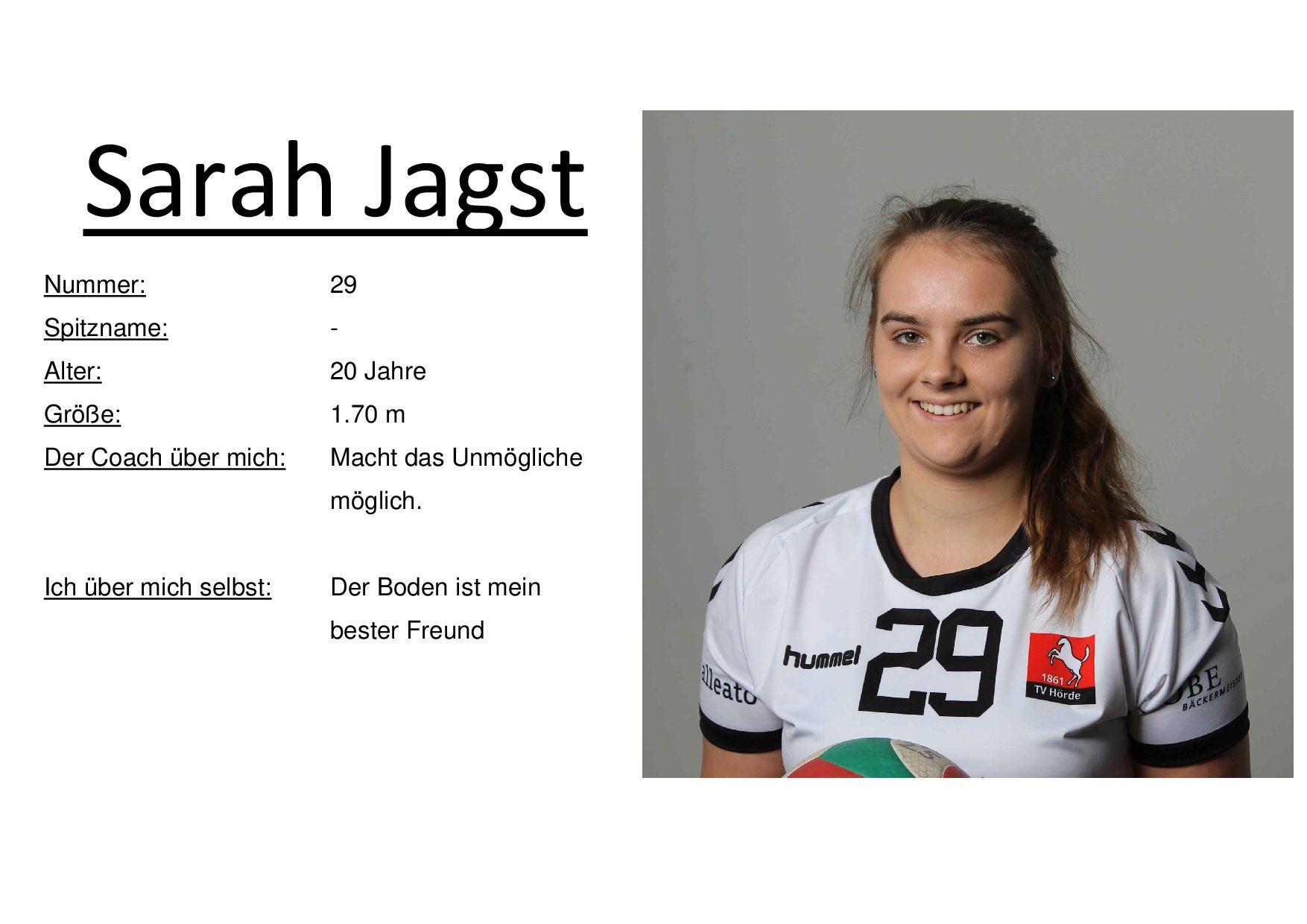 Sarah Jagst