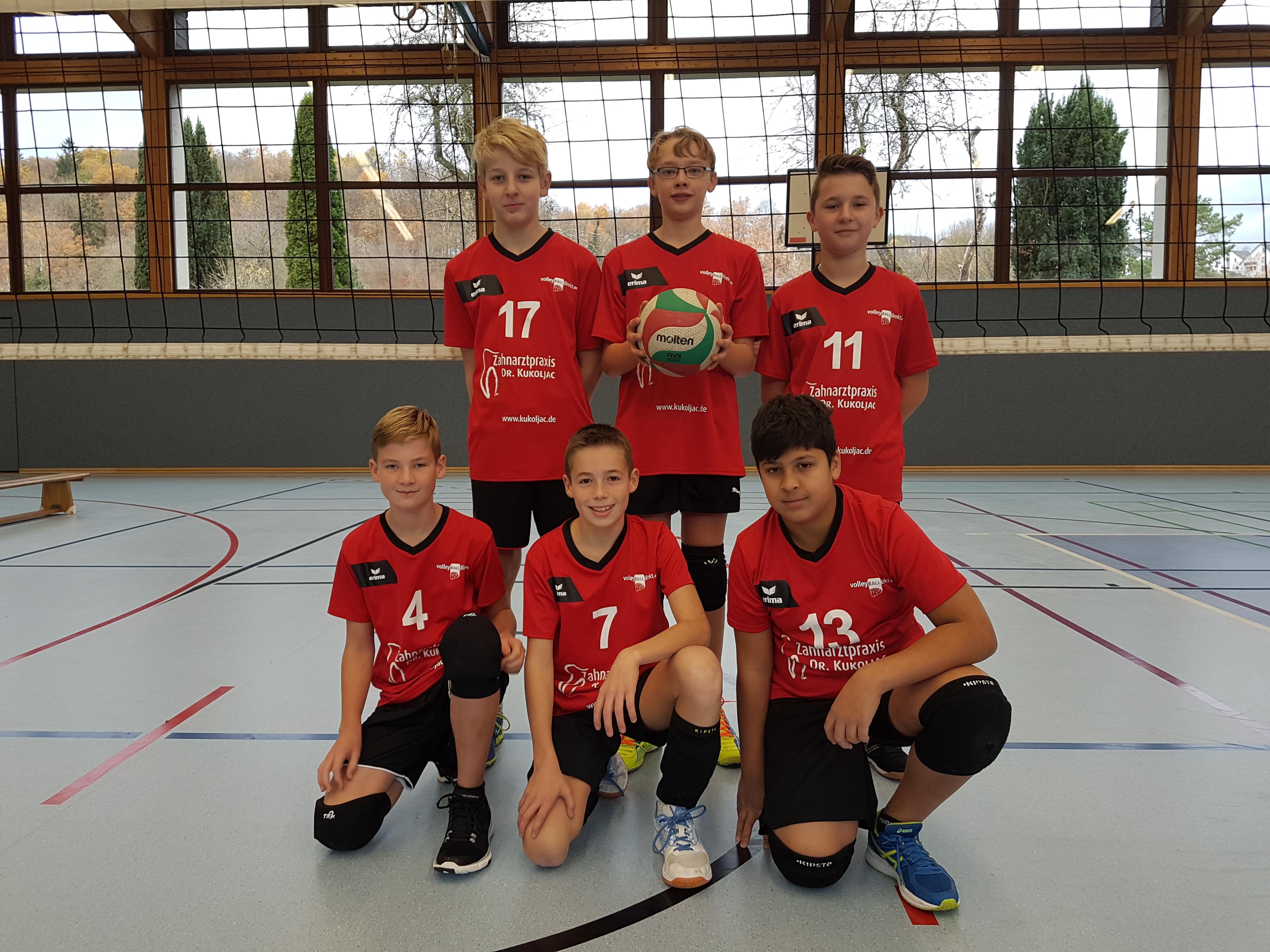 Männliche U14 festigt den dritten Tabellenplatz
