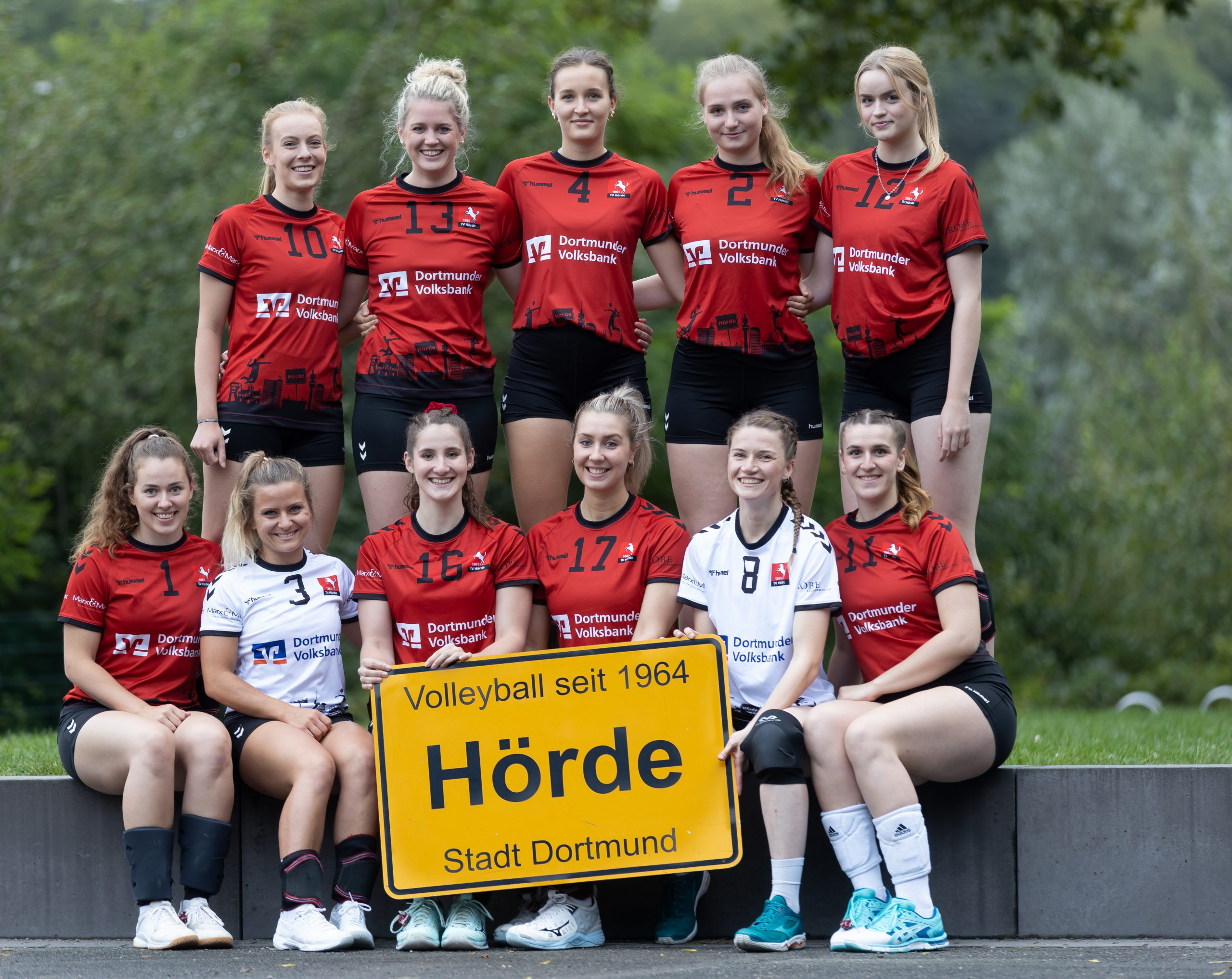 Volleyball Damen / TV Hörde / 1. Mannschaft Foto: Dieter Menne Datum: 15.09.2021
